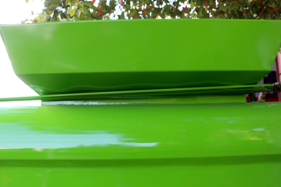 凯马3.5方餐厨垃圾车上方图片