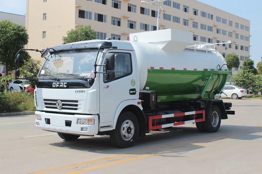 东风5吨餐厨垃圾车(左前侧图片)