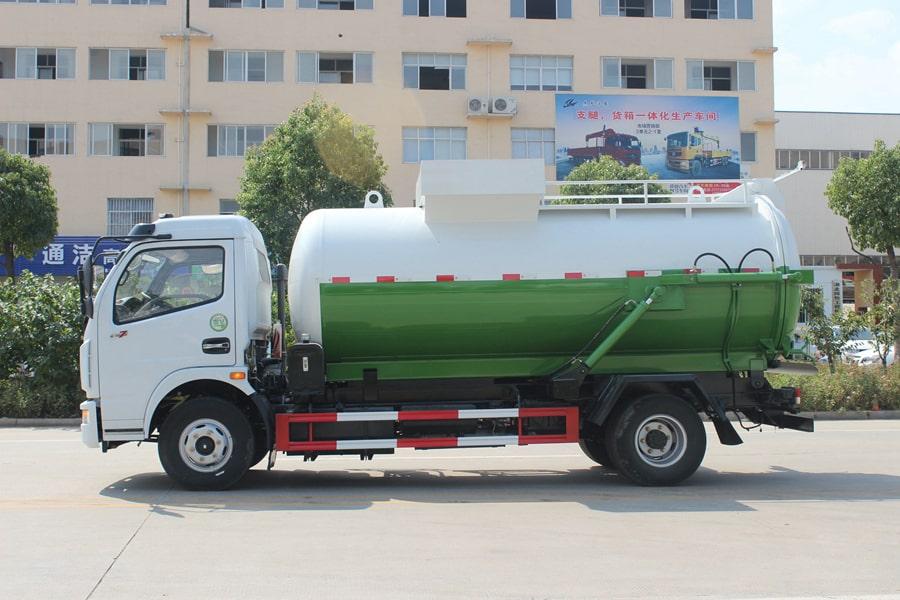 东风5吨餐厨垃圾车(左侧图片)