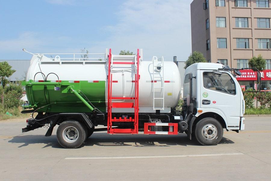 东风5吨餐厨垃圾车(右侧图片)