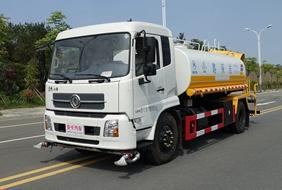 东风天锦12吨洒水喷雾车