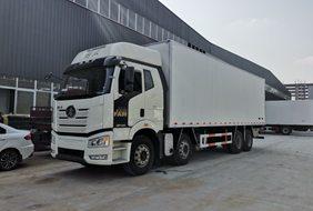 解放J6P9.6米冷藏车