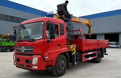 新款8吨|12吨随车起重运输车价格
