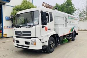 东风8吨道路清扫车价格_图片_配置_视频大全