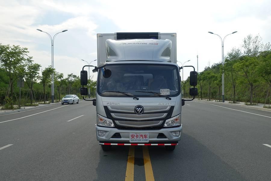 欧马可5.1/5.6/6米冷藏车正前图片