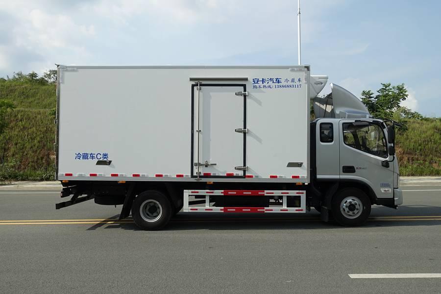 欧马可5.1/5.6/6米冷藏车侧门图片