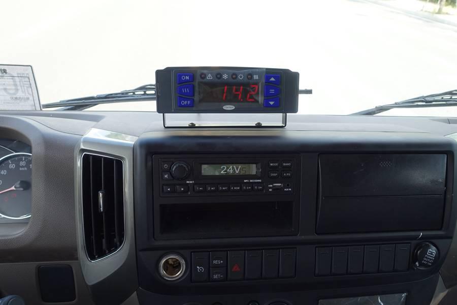 欧马可5.1/5.6/6米冷藏车温度控制盒图片