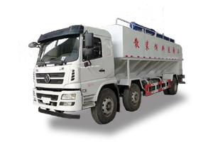 陕汽15吨散装饲料车