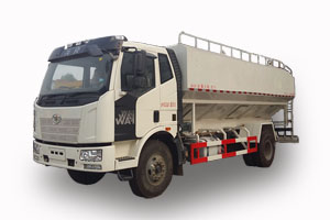 解放10吨散装饲料车