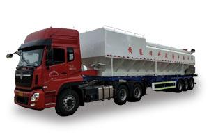 35吨半挂散装饲料车