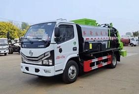 国六3吨餐厨垃圾车