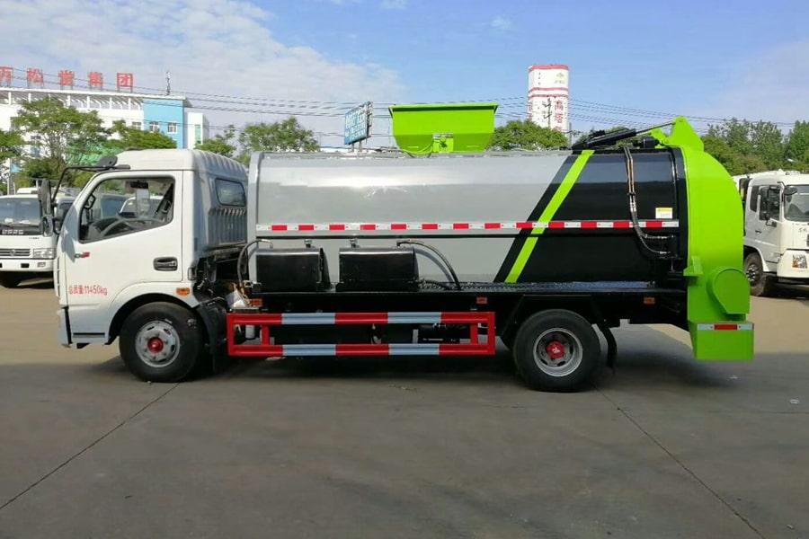 国六5吨餐厨垃圾车左侧图片
