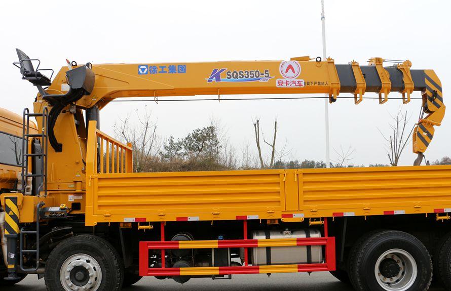 徐工汉风14吨随车吊吊机图片