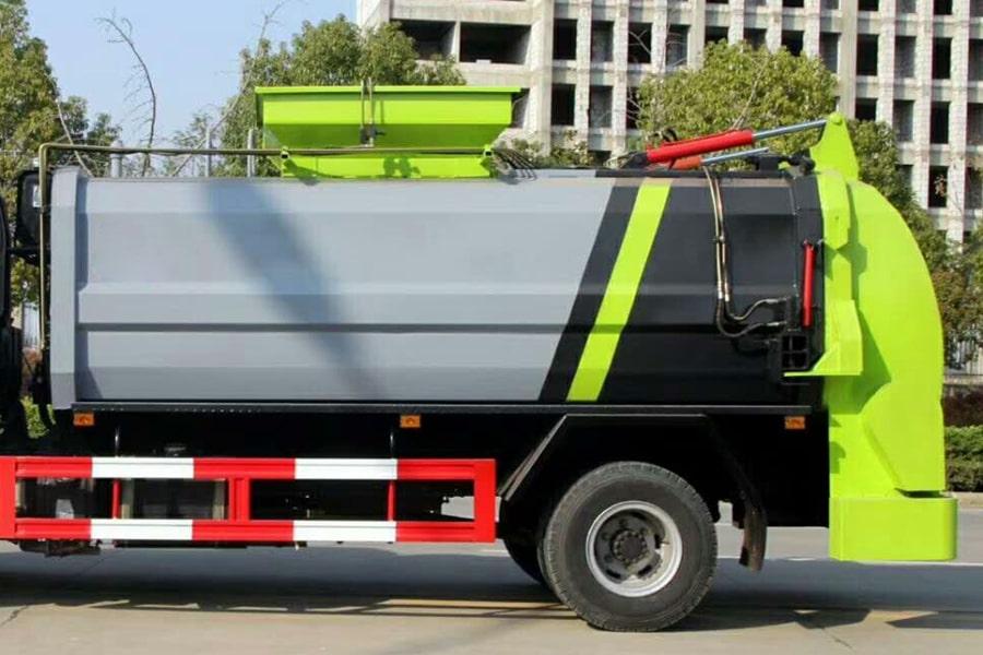 东风8吨餐厨垃圾车上装箱体图片