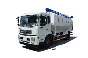 20立方散装饲料运输车,养殖场专用散装饲料运输