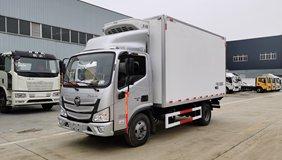 福田欧马可国六4.2米冷藏车开售了!