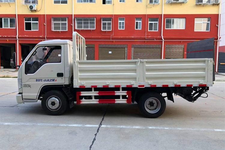 福田小卡桶装垃圾运输车左侧图片