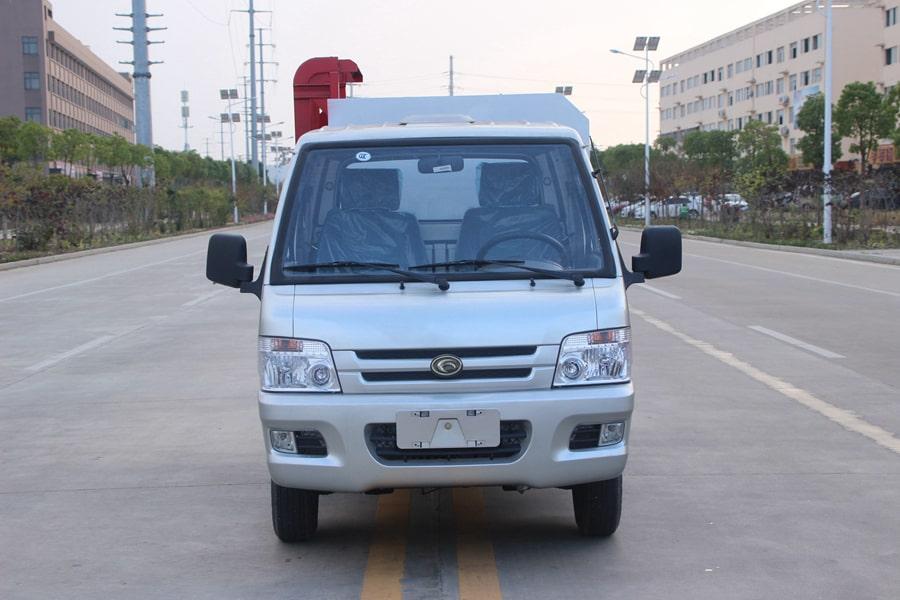 福田3方挂桶式垃圾车整车外观8