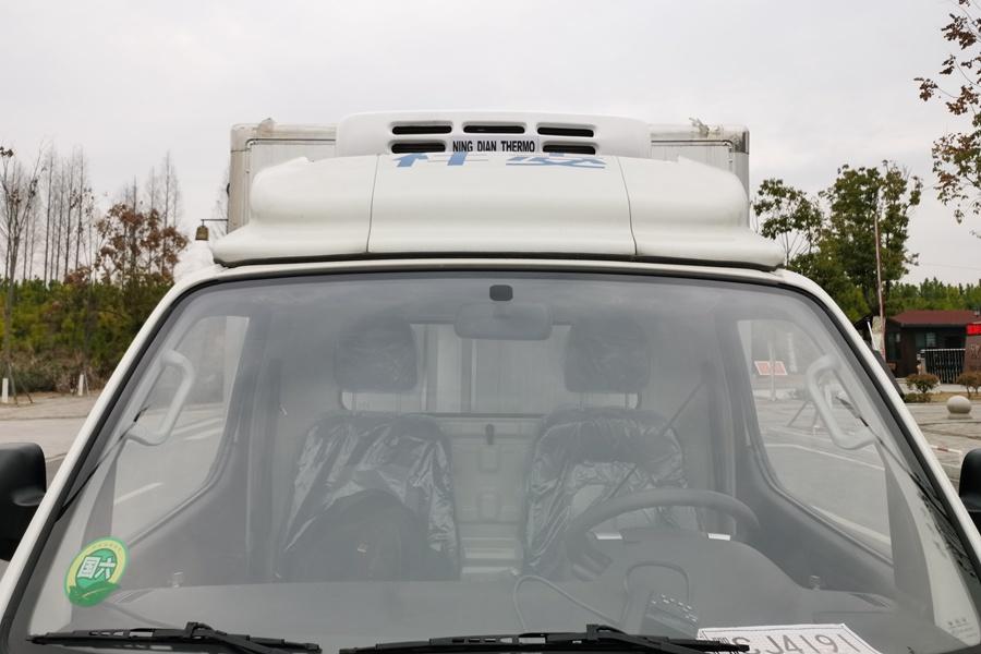 福田祥铃M1-3.2米冷藏车冷凝器图片