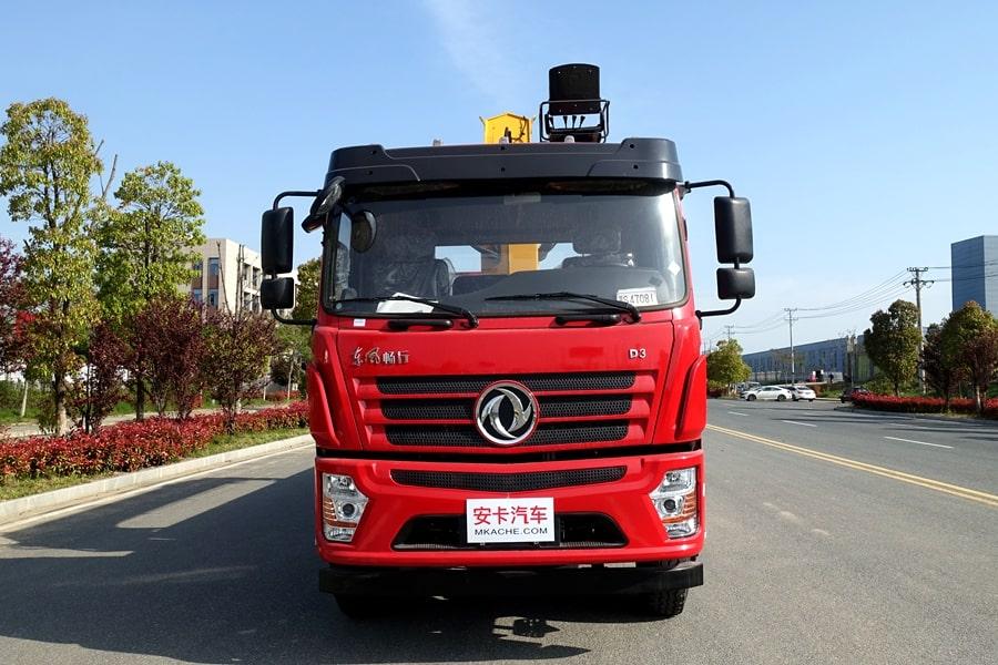 东风D3L12吨随车吊正车头图片