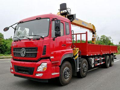 东风天龙12吨双联泵随车吊评测