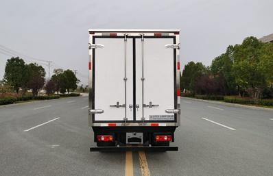 长安神琪3.2米冷藏车正后图片