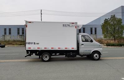 长安神琪3.2米冷藏车正侧图片