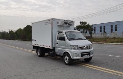 长安神琪3.2米冷藏车斜前图片