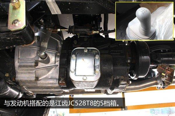 江铃顺达4.2米冷藏车5档变速箱