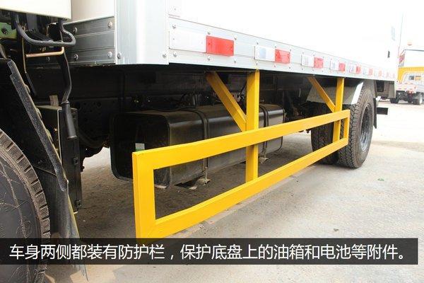 江铃顺达4.2米冷藏车保护杆