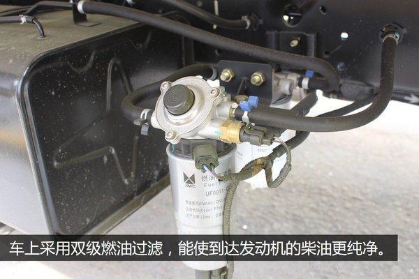 江铃顺达4.2米冷藏车过滤器