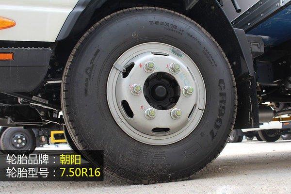 江淮帅铃4.2米冷藏车轮胎