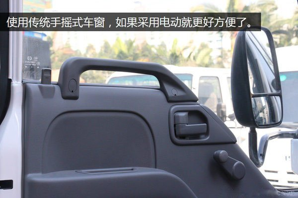 五十铃100P4.2米冷藏车门窗