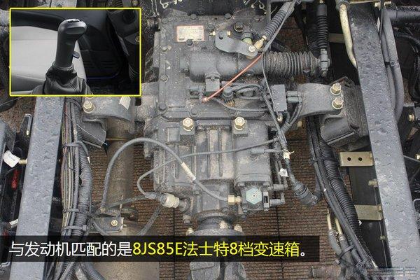 解放J6-6.8/7.5米冷藏车变速箱