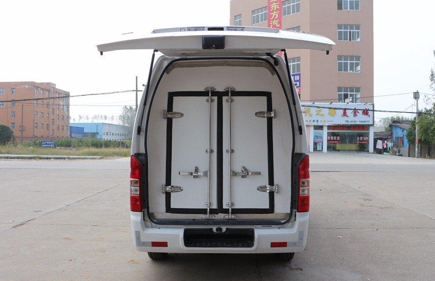 福田G7面包冷藏车后开门图片