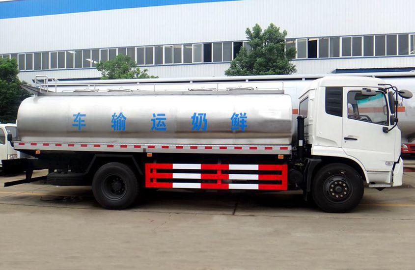 东风天锦奶罐车图片二