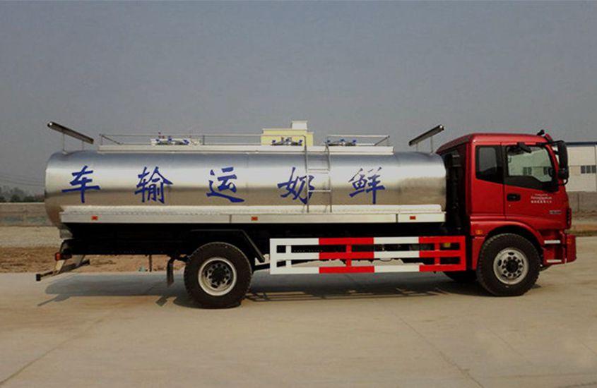 国五欧曼鲜奶运输车图片二