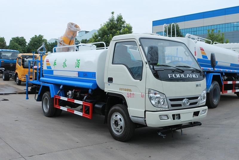 福田4吨雾炮车图片