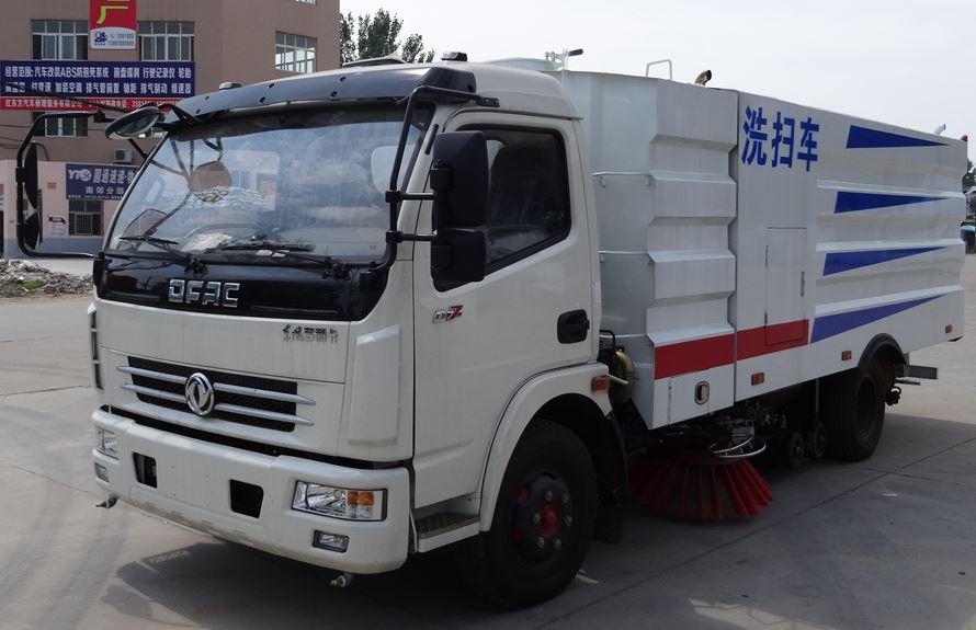 东风多利卡5吨多功能洗扫车图片1
