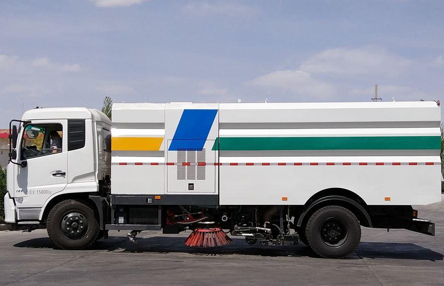 东风天锦8吨多功能洗扫车图片2