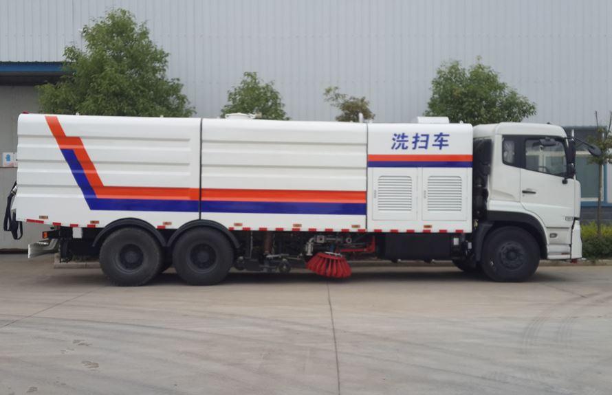 东风天龙25吨多功能洗扫车图片3