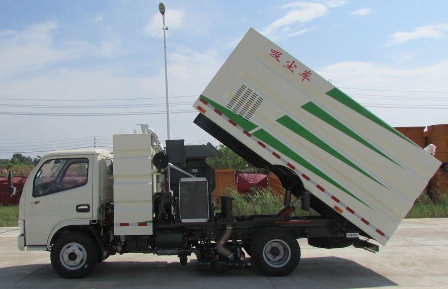 东风3吨吸尘车图片2