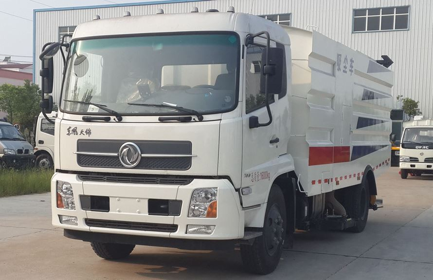 东风天锦8吨吸尘车图片1