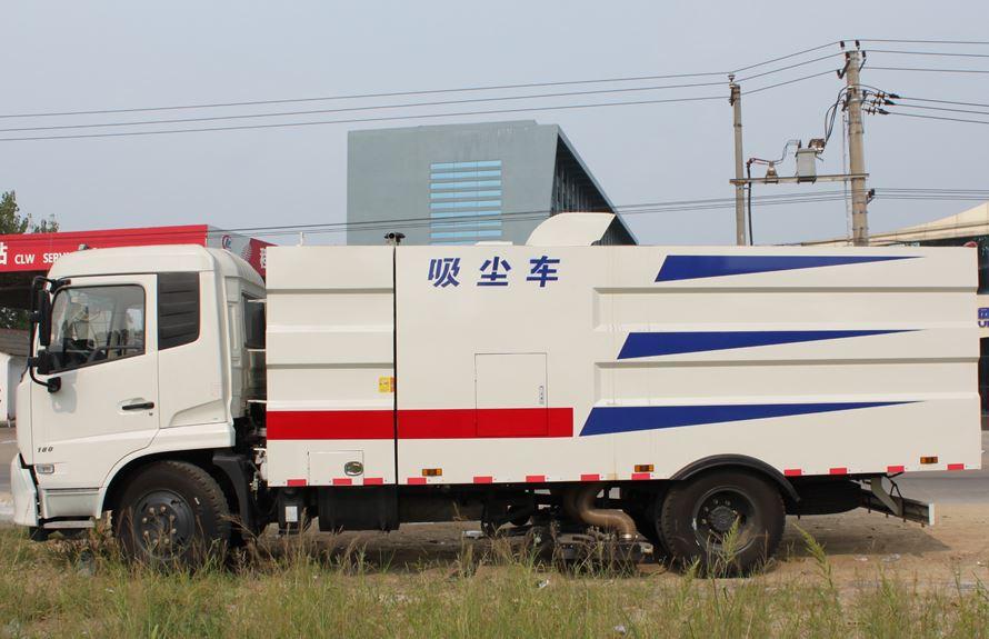 东风天锦8吨吸尘车图片2