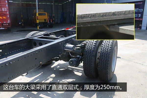 东风多利卡D9-6.8米冷藏车大梁