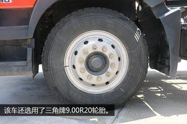 东风多利卡D9-6.8米冷藏车轮胎
