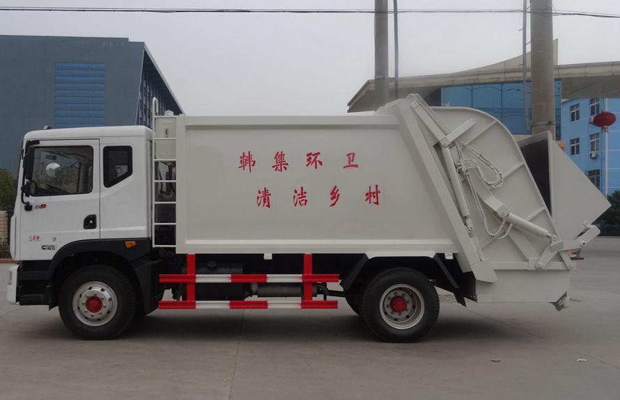 东风12方压缩垃圾车左侧图片