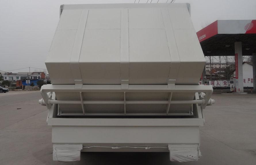 东风12方压缩垃圾车后侧图片