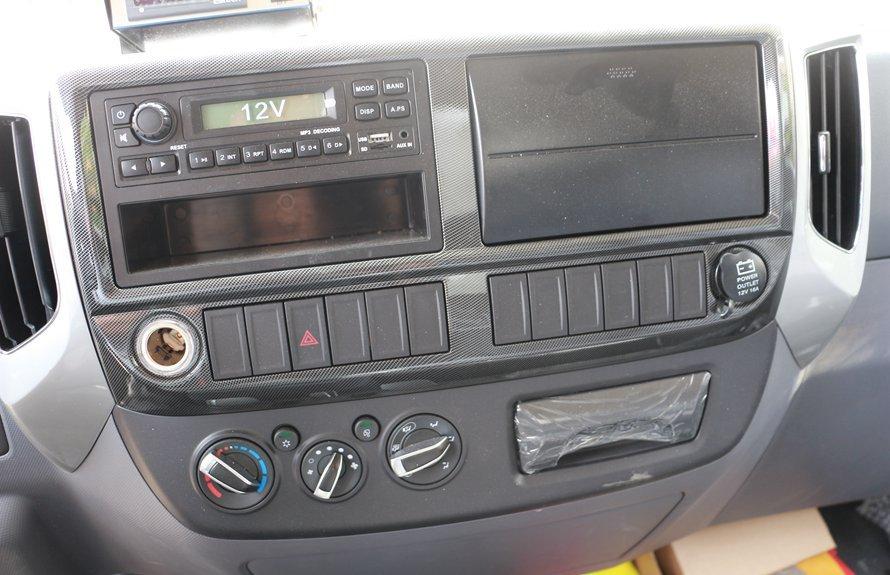 福田奥铃新款M3冷藏车中控锁