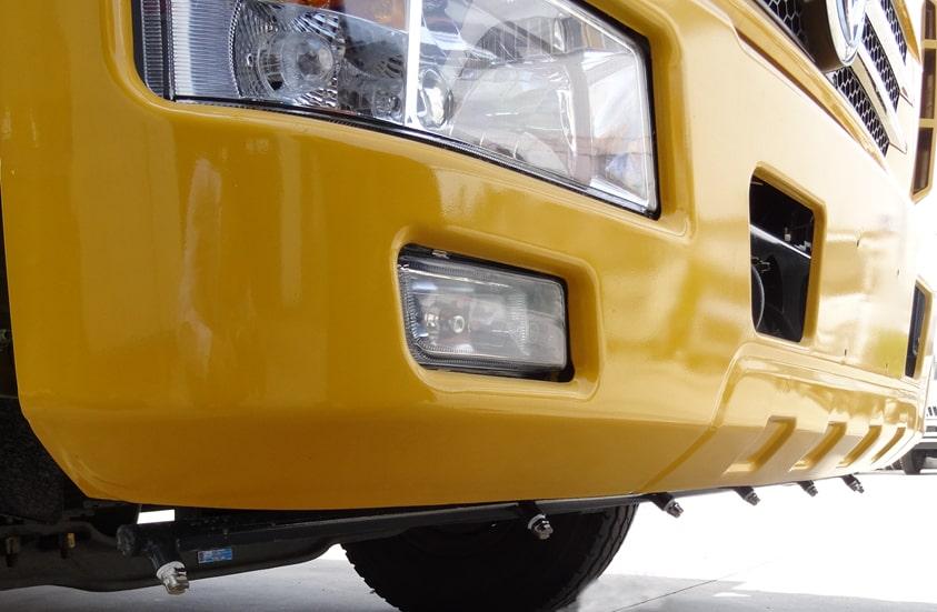 扫路车加装前高压喷雾功能